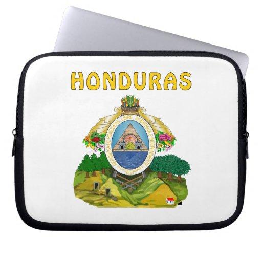 Honduras Coat Of Arms Computer Sleeves