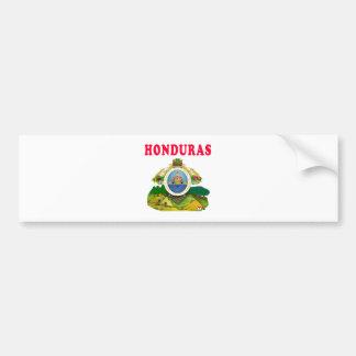 Honduras Coat Of Arms Designs Car Bumper Sticker