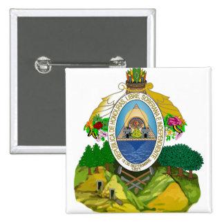 Honduras Coat of Arms detail Buttons