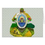 Honduras Coat of Arms detail Cards