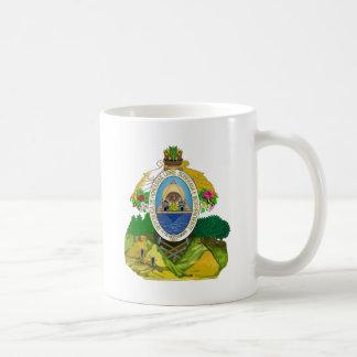 Honduras Coat of Arms detail Classic White Coffee Mug