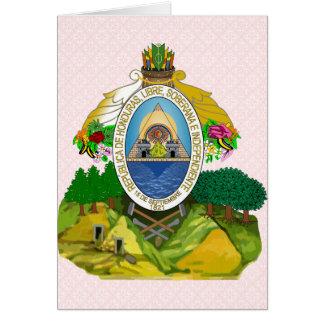 Honduras Coat of Arms detail Greeting Cards
