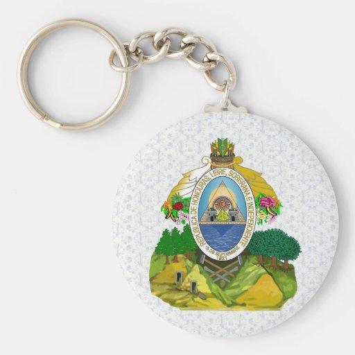 Honduras Coat of Arms detail Key Chains