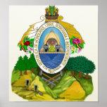 Honduras Coat of Arms detail Poster