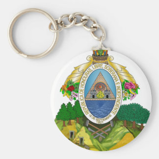 Honduras Coat of Arms Keychain