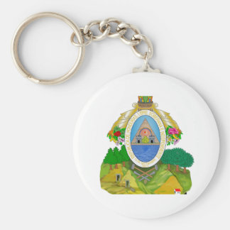 Honduras Coat of Arms Keychains