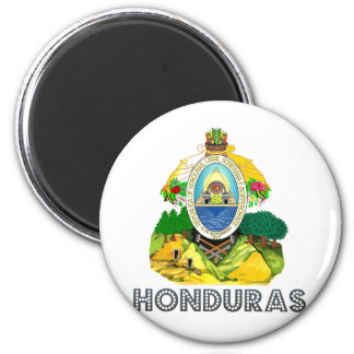 Honduras Coat of Arms 2 Inch Round Magnet
