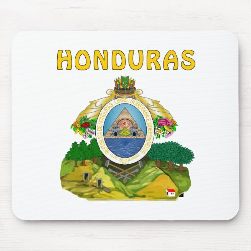 Honduras Coat Of Arms Mouse Pad