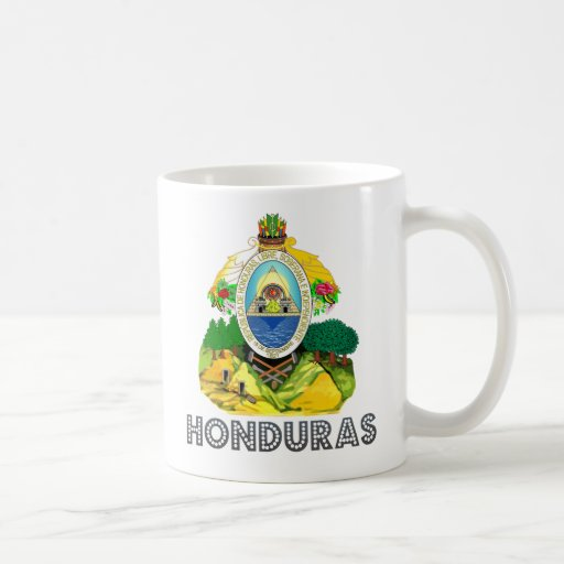 Honduras Coat of Arms Coffee Mugs