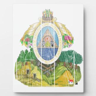 Honduras Coat Of Arms Photo Plaque