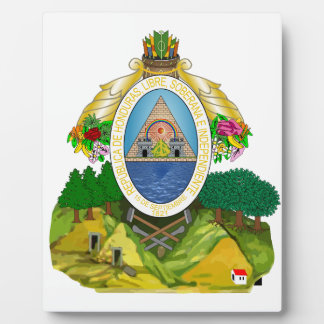 Honduras Coat Of Arms Display Plaques
