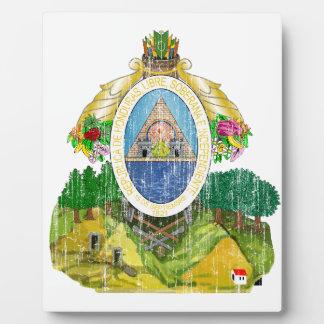 Honduras Coat Of Arms Plaque