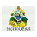 Honduras Coat of Arms Post Card