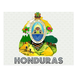Honduras Coat of Arms Postcard