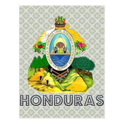 Honduras Coat of Arms Post Cards