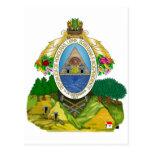 Honduras Coat of Arms Postcards