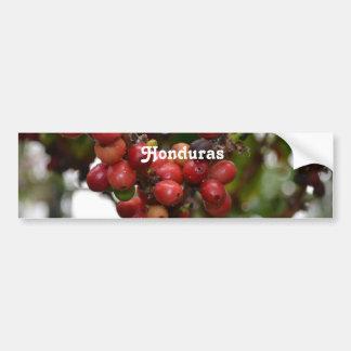 Honduras Coffee Beans Bumper Sticker