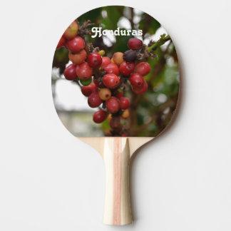 Honduras Coffee Beans Ping-Pong Paddle