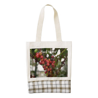 Honduras Coffee Beans Zazzle HEART Tote Bag