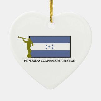 HONDURAS COMAYAQUELA MISSION LDS CTR CERAMIC ORNAMENT