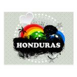Honduras con sabor a fruta linda tarjetas postales