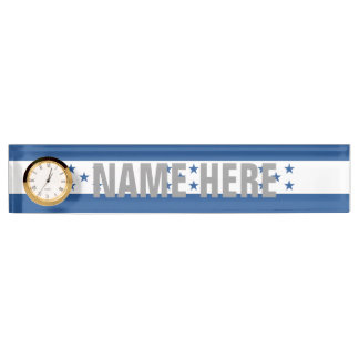 Honduras Desk Name Plates