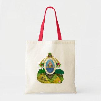 honduras emblem canvas bags