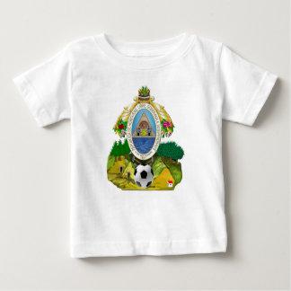 Honduras emblem coat of Arms soccer ball gifts Baby T-Shirt