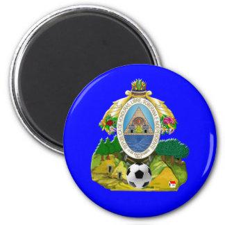 Honduras emblem coat of Arms soccer ball gifts Magnet