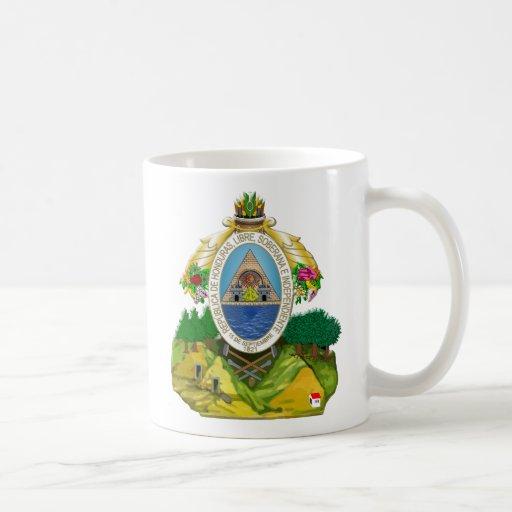 Honduras emblem Honduran coat of Arms Coffee Mugs