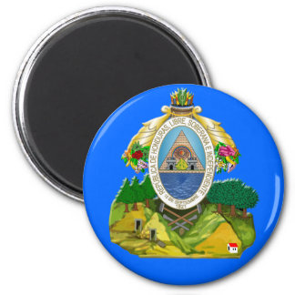 Honduras emblem Honduran coat of Arms Refrigerator Magnets