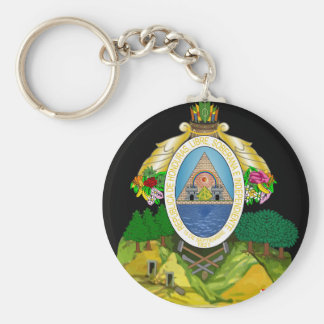 honduras emblem key chain
