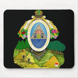 honduras emblem mouse pad