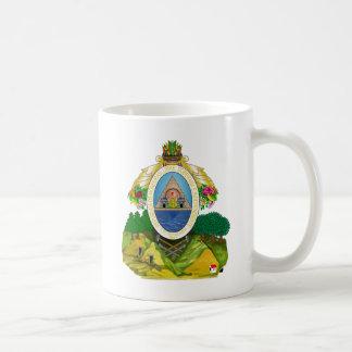 honduras emblem classic white coffee mug