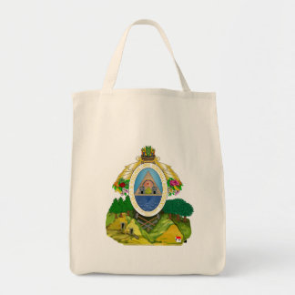 honduras emblem tote bag