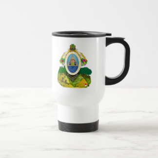 honduras emblem travel mug