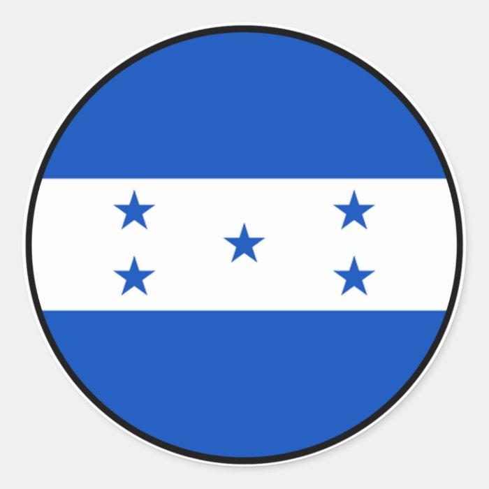 Honduras Euro Sticker