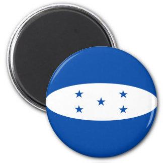 Honduras Fisheye Flag Magnet