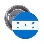 Honduras Flag 2 Inch Round Button