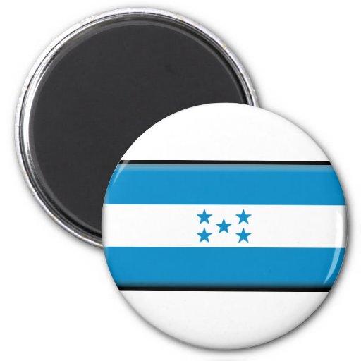 Honduras Flag 2 Inch Round Magnet