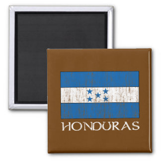 Honduras Flag 2 Inch Square Magnet