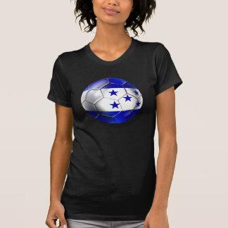 Honduras flag 5 star soccer ball futbol fans gifts t shirt