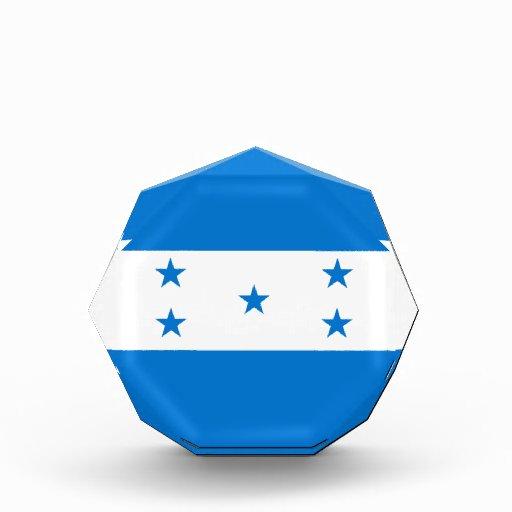 Honduras Flag Acrylic Octagon Award