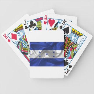 honduras-Flag Bicycle Playing Cards
