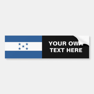 Honduras Flag Bumper Sticker