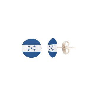 Honduras Flag Earrings
