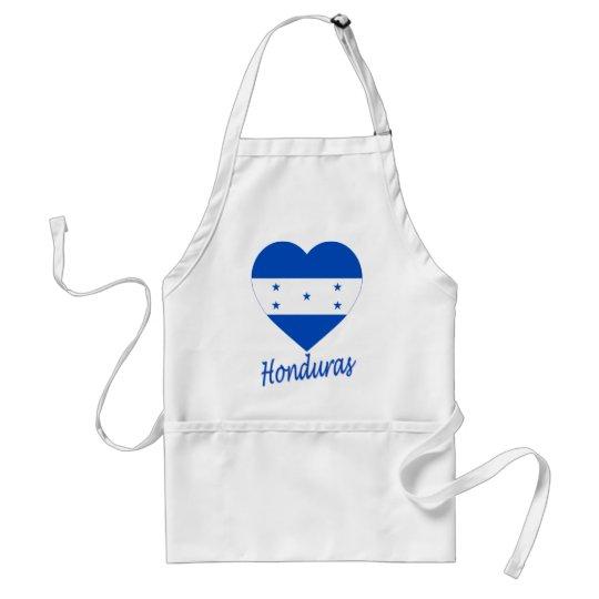 Honduras Flag Heart Adult Apron