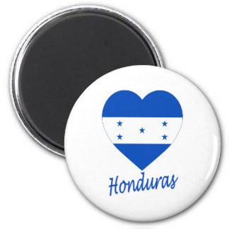 Honduras Flag Heart Magnet