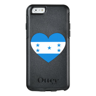 Honduras Flag Heart OtterBox iPhone 6/6s Case