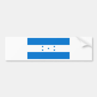 Honduras Flag HN Bumper Sticker